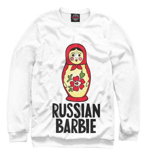 Свитшот Print Bar Русская барби свитшот print bar русская краса