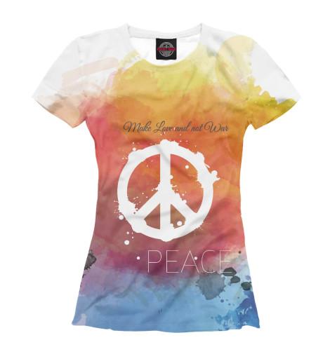 Купить Женская футболка Мир APD-630841-fut-1