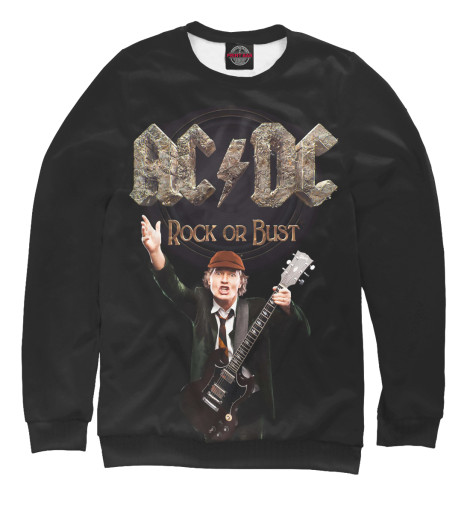 Свитшот Print Bar AC/DC Rock or Bust cd ac dc for those about to rock we salute you remastered
