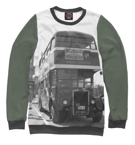 Свитшот Print Bar Англия. Лондон. Автобус. восток и запад англия и лондон страна жемчуга