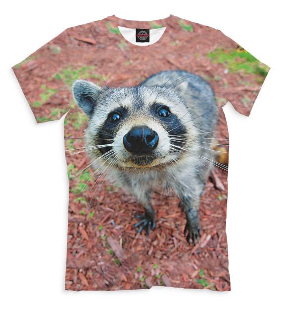 Купить Мужская футболка Енот ENT-405564-fut-2