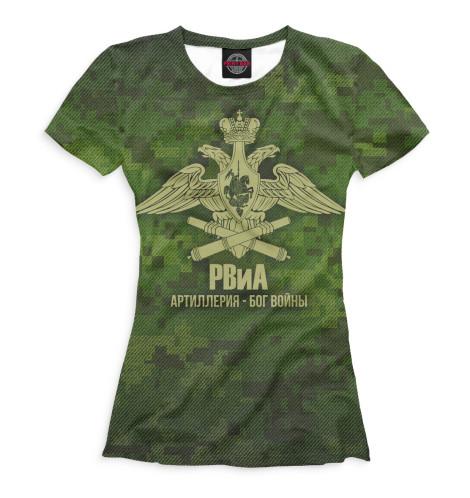Женская футболка РВиА