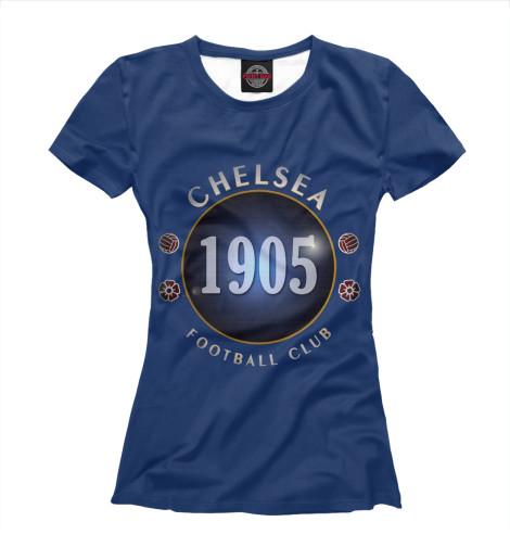 Футболка Print Bar FC Chelsea 1905 майка борцовка print bar fc chelsea 1905