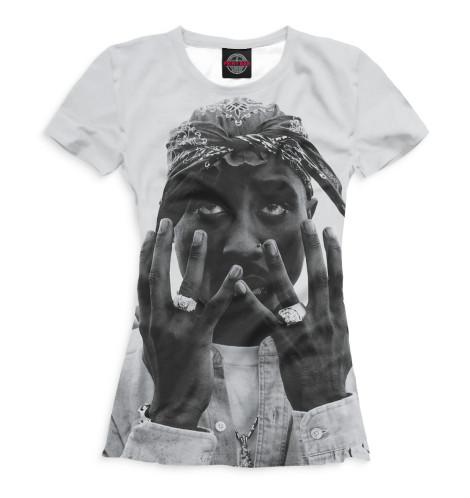 Женская футболка 2Pac