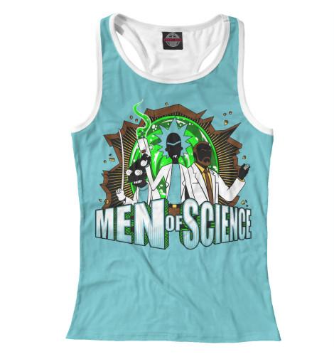Майка борцовка Print Bar Люди науки футболка print bar люди науки