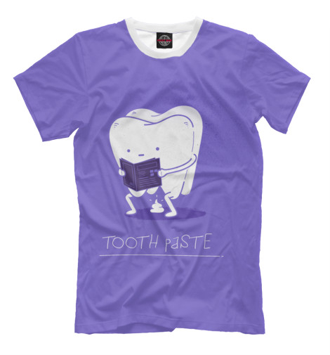 Футболка Print Bar Tooth paste майка борцовка print bar tooth paste