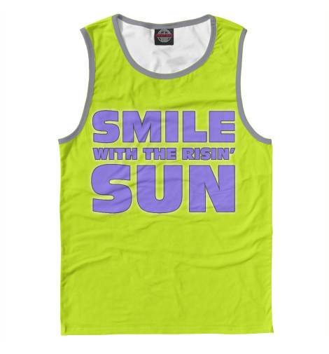 Майка Print Bar Smile smile print nightdress
