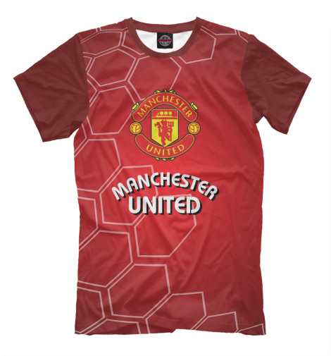 Футболка Print Bar Manchester United double duvet set manchester united f c be