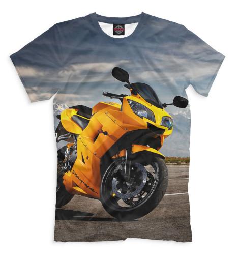 Мужская футболка Мотоцикл