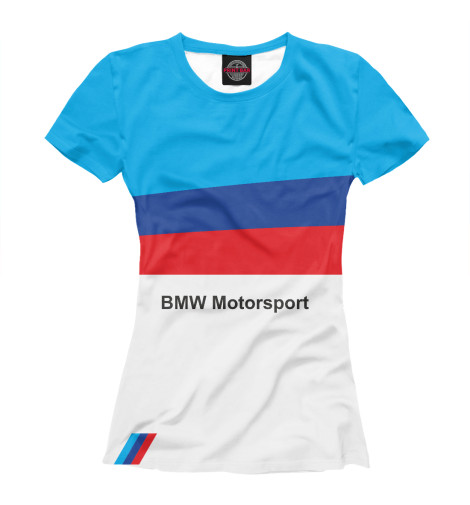 цена Футболка Print Bar BMW Motorsport онлайн в 2017 году