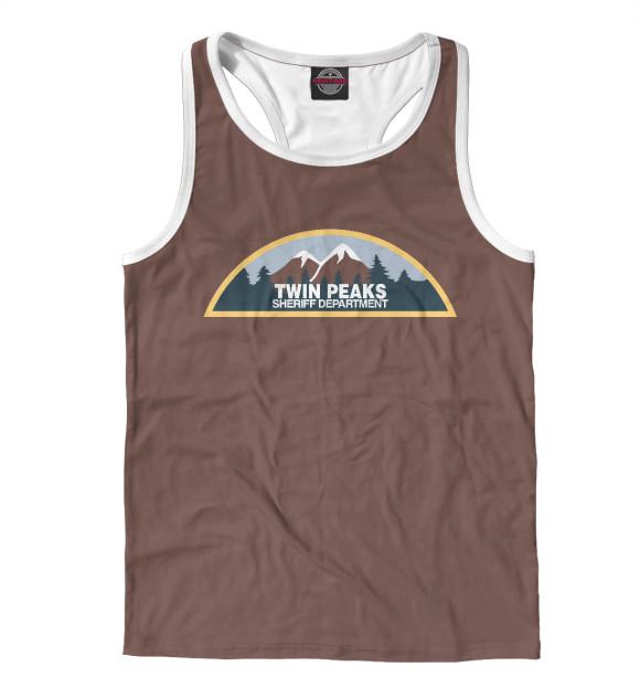 Купить Мужская майка-борцовка Twin Peaks Sheriff Department TPS-888354-mayb-2