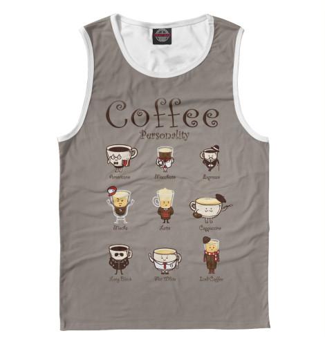 Майка Print Bar Coffee Personality personality traits