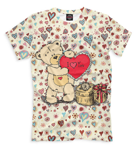 Мужская футболка Медвежата