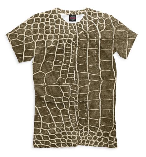 Мужская футболка Крокодил