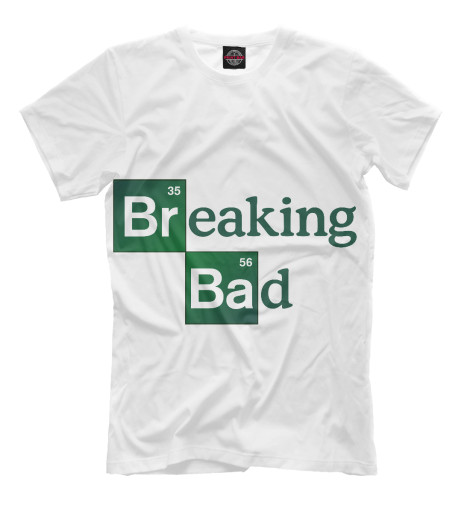 Футболка Print Bar Breaking bad breaking bad блокнот