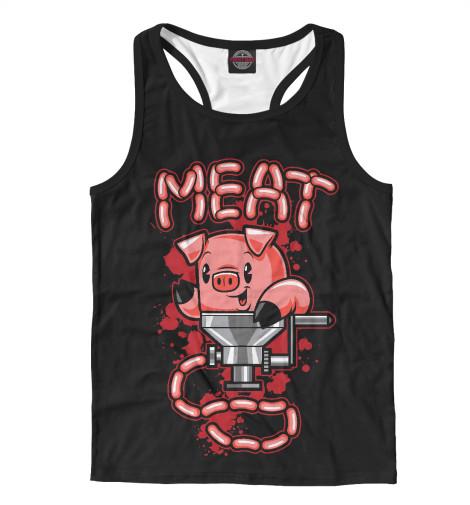 Майка борцовка Print Bar Мясо мясо