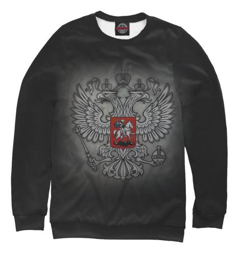 Свитшот Print Bar Герб России купить герб россии от пограничного столба интернет магазин
