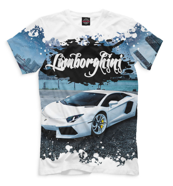 Купить Мужская футболка Lamborghini SPC-476438-fut-2