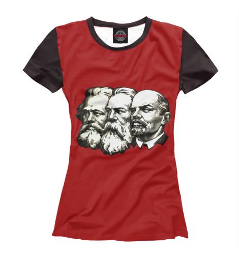 Футболка Print Bar Маркс,Энгельс,Ленин рено флюенс диски штампы саратов энгельс кол са