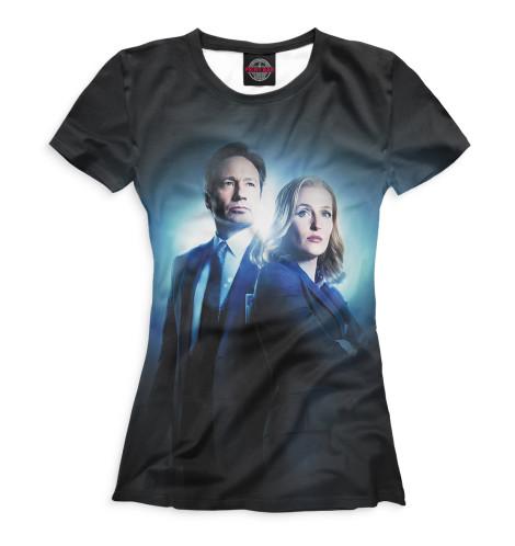 Женская футболка Секретные материалы