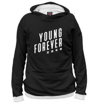 Мужское худи Young Forever