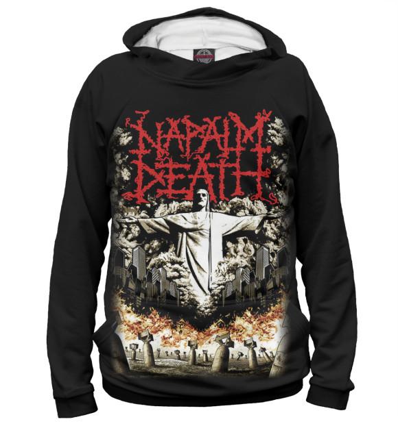 Купить Женское худи Napalm Death MZK-385836-hud-1