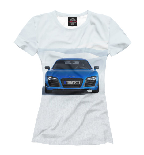 Футболка Print Bar Audi R8 welly модель автомобиля audi r8 v10 цвет красный