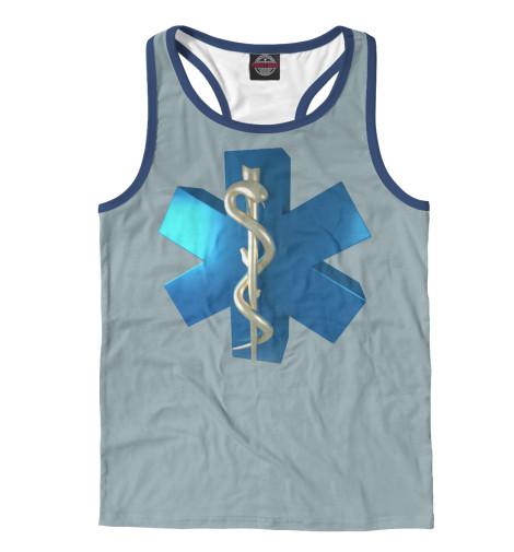 Майка борцовка Print Bar Звезда жизни футболка print bar спасаю жизни