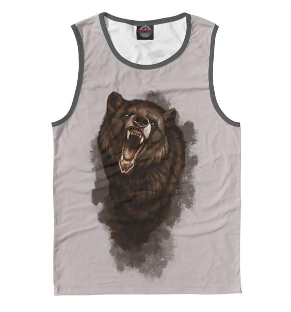 Купить Мужская майка Бурый медведь MED-521009-may-2