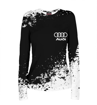 Женский лонгслив Audi abstract sport uniform