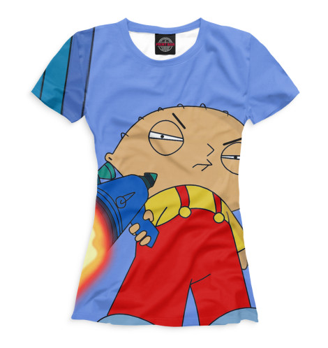 Женская футболка Стьюи