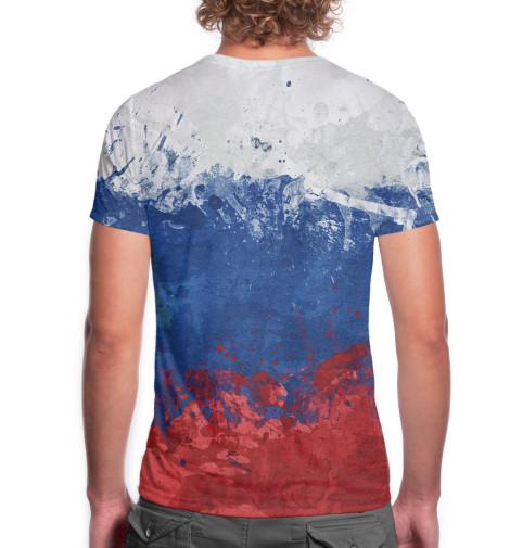 Мужская футболка Триколор