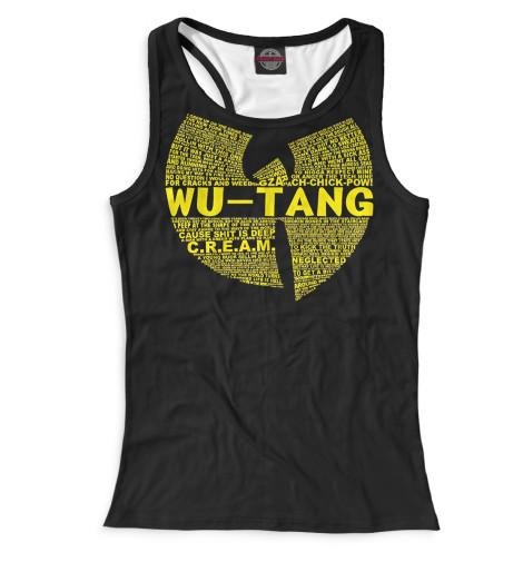 Женская майка-борцовка Wu-Tang Clan