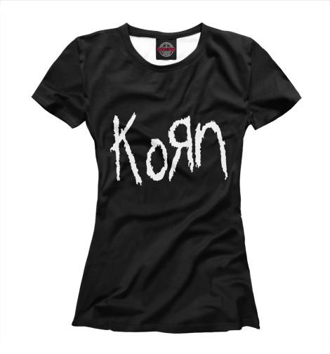 Женская футболка Korn