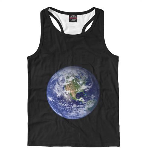 Майка борцовка Print Bar Планета Земля бриз дневник школьный планета земля