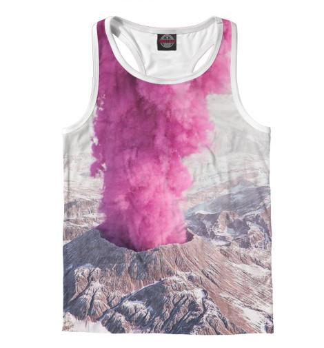 Майка борцовка Print Bar Розовый вулкан кронштейн опоры вулкан vr 500x500 нерж304