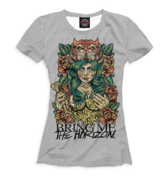 Купить Женская футболка Bring Me The Horizon BRI-366005-fut-1