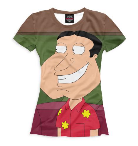 Женская футболка Гленн Куагмайр