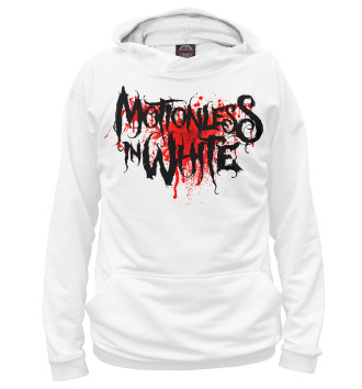 Женское Худи Motionless In White Blood Logo
