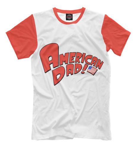 Футболка Print Bar American Dad!