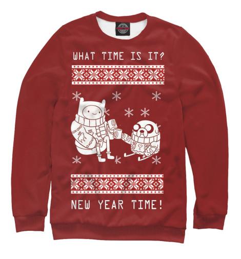 Свитшот Print Bar New Year Time