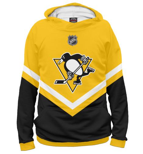 Худи Print Bar Pittsburgh Penguins лонгслив printio pittsburgh penguins