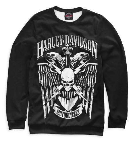 Женский свитшот Harley Davidson Motorcycles Print Bar MTR-575884-swi