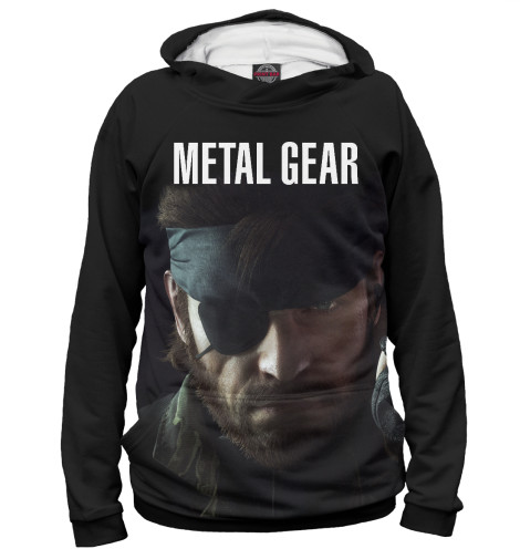 Худи Print Bar Metal Gear свитшот print bar metal gear