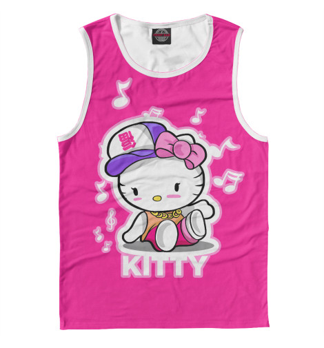 Майка Print Bar Hello Kitty набор для плавания hello kitty hey32623 очки шапочка