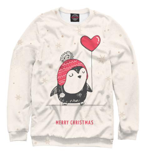 Свитшот Print Bar Cutie Little Penguin free shipping 10pcs ics90c64am