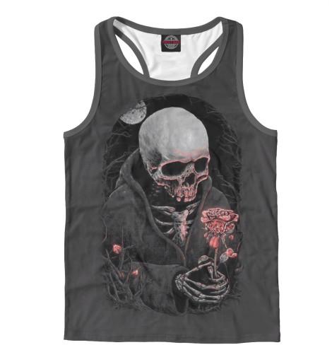 Майка борцовка Print Bar Смерть и роза майка борцовка print bar медитативная роза