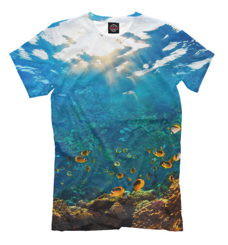 Футболка Print Bar Коралловый риф