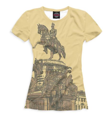 Женская футболка Санкт-Петербург