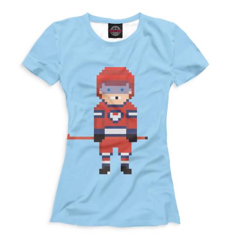Купить Футболка для девочек Хоккей HOK-552823-fut-1